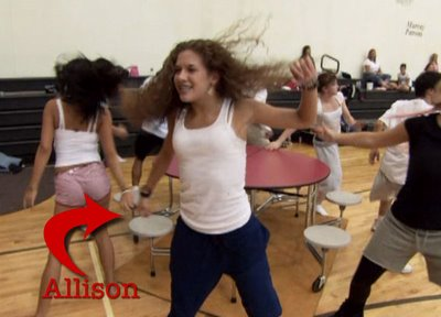 Allison Holker from So You Think You Can Dance in Disney's High School Musical
