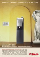Saeco advertising