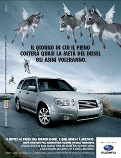 Campagna pubblicitaria Subaru