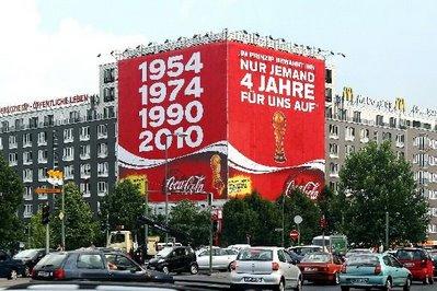 Megaprint Coca Cola a Berlino