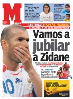 Vamos enterrar o Zidane