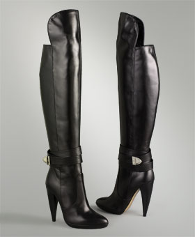 Sexy Winter Boots :  couture in the city knee boots leather boots designer shoes