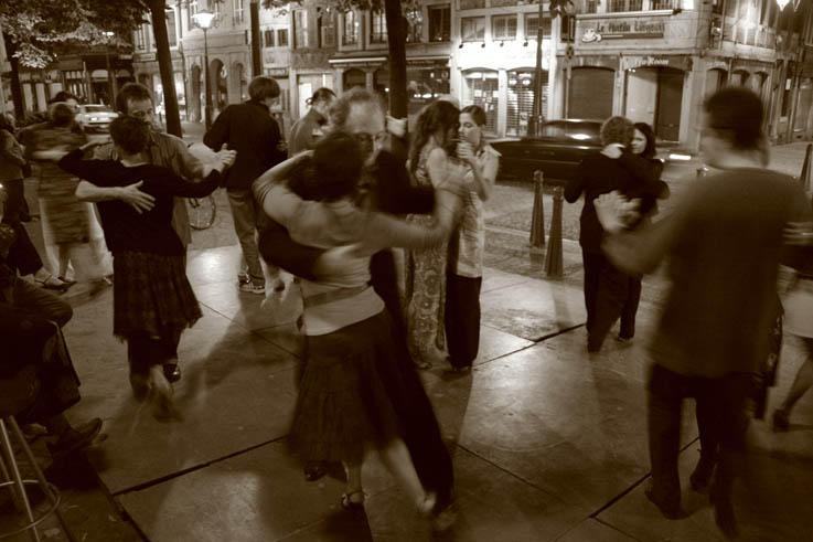 tango, liège, place du marché, photo dominique houcmant aka goldo graphisme
