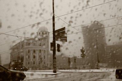 urania, wien, taxi, pluie, neige, photo dominique houcmant, goldo graphisme
