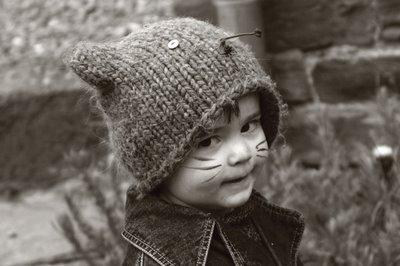 child, cat, carnaval