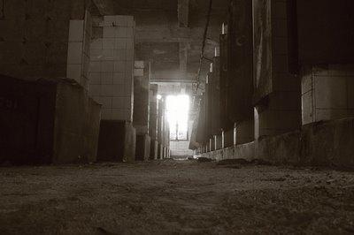 photo charbonnage du Hasard à Cheratte, salle des douches, copyright dominique houcmant, goldo graphisme