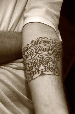 tatouage, photo dominique houcmant