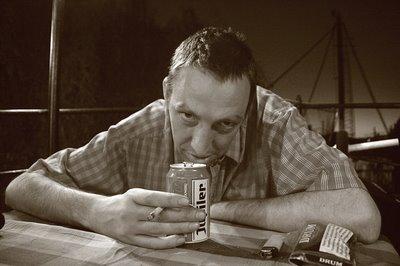 philippe Grandhenry, comédien, portrait d'homme, photo dominique houcmant, goldo graphisme