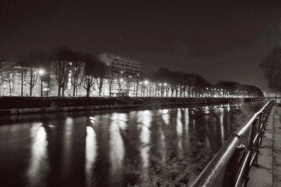 photo du quai des Ardennes depuis le quai du Condroz à Liège, quay, embankment, photo dominique houcmant, goldo graphisme