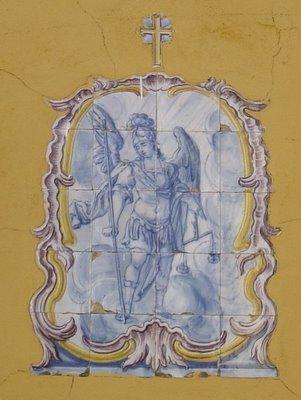 Registo de azulejos. Setúbal. Foto do autor