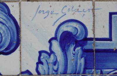 Azulejo. Jorge Colaço. Foto do autor