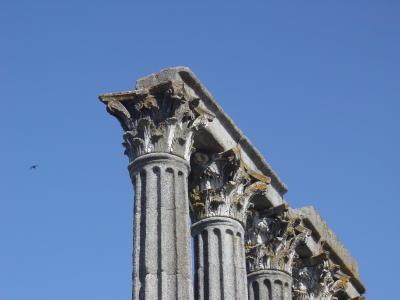 Évora. Templo de Diana. Foto do autor