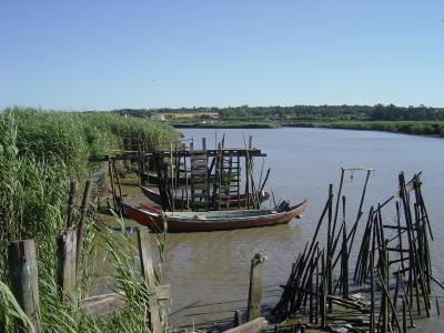 Rio Sado em Alcácer. Foto do autor.