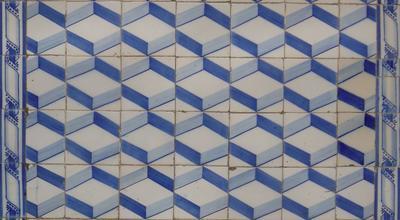 Azulejo. Tomar. Foto do autor