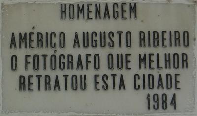 Américo Ribeiro. Foto do autor