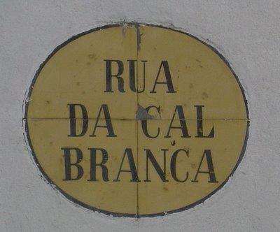 Rua da Cal Branca. Évora. Foto do autor