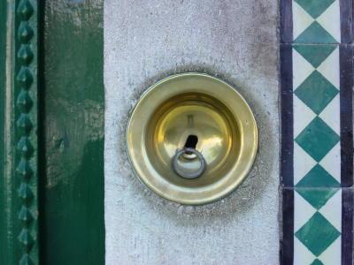 Campainha de porta. Foto do autor