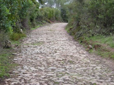 Estrada romana. Setúbal