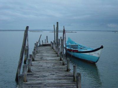 Rio Sado. Mourisca. Foto do autor