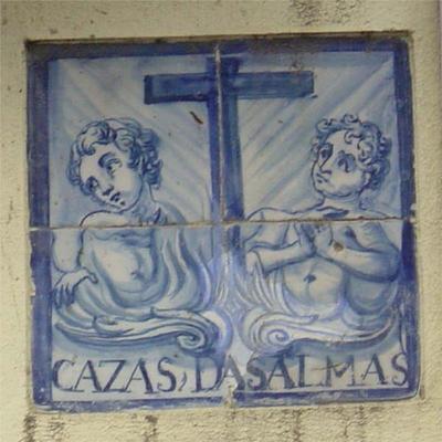 Azulejo das almas. Setúbal. Foto do autor