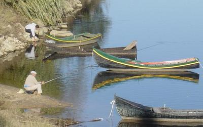 Constância: pesca no rio. Foto do autor