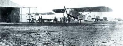 Aeródromo de Pacheco. Fonte: http://www.trussel.com/saint-ex/decend02.jpg