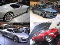 Saab, Volvo, Audi & Mazda on Display