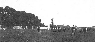 Canadian troops exercising on the parade grounds adjacent to the Shorncliffe Barracks, First World War