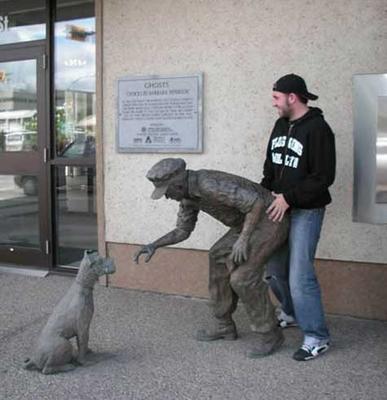 rearend statue