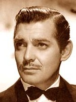 clark gable facing to his right