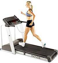 treadmill girl