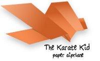 karatekid paper airplane