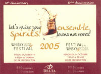 2005 Whisky Festival ticket