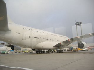 Airbus A380 at Frankfurt