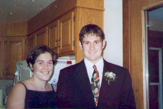 found photo of couple