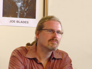 JoeBlades @ the 49th Beograd Book Fair in October 2004