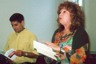 Jonathan Kaplansky and Pauline Michel