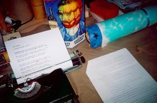 coda poem in the typewriter