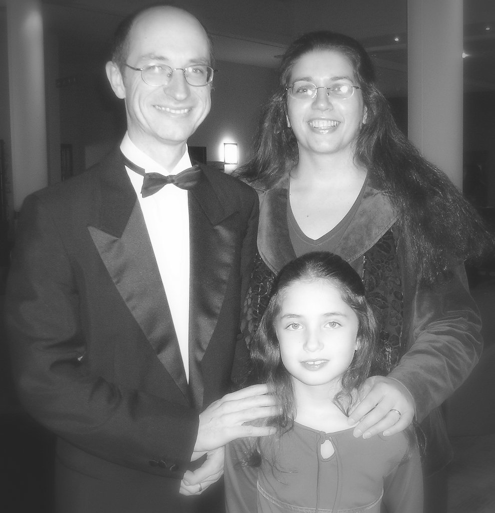 Susanna, Chris and Asha, 2005