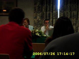 Presentación da primeira charla de Mar por Medio 2006