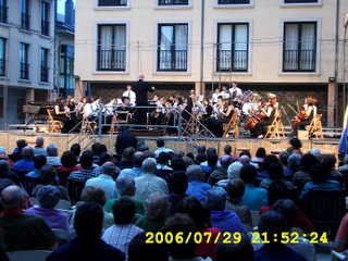 Banda de Ribadeo no festival de Bandas Ribadeo 2006