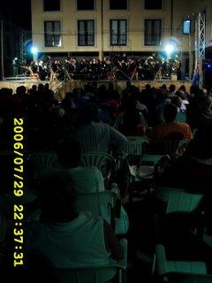 banda de Sarria no festival de Bandas Ribadeo 2006