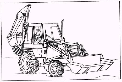 25 Best Tractor Coloring Pages To Print likewise Bekoloder Boyama 1700 as well Backhoe Loader Coloring Pages Sketch Templates as well 2 besides Bobcatprintout. on cat skid steer coloring pages