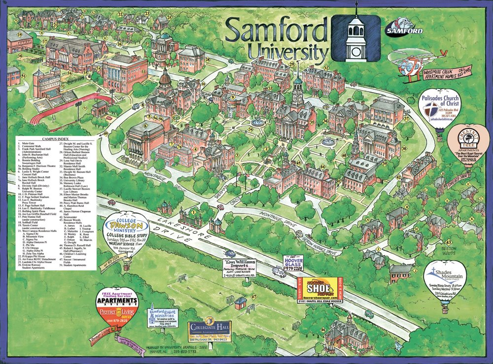 Garrison S Map Revisions Samford University