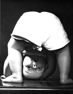 This undated photo, supplied by Lynda Hatcher, shows a baby in an image taken by Hatcher's mother, photographer Constance Bannister. Bannister, whose photographs of babies on calendars, advertisements and books reached a worldwide audience in the 1940s and 1950s, died Tuesday, Aug. 16, 2005, in Woodbury, N.Y., at age 92. (AP Photo/Courtesy of Lynda Hatcher)
