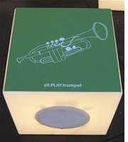 trumpet box