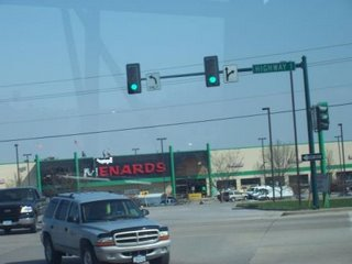 Menards off of Highway 1 in Iowa City