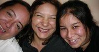 Susann, Claudia y Fabiola