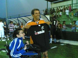 Antonio Gaddari e Gianfranco Zola