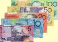 Des billets du Dollar australien